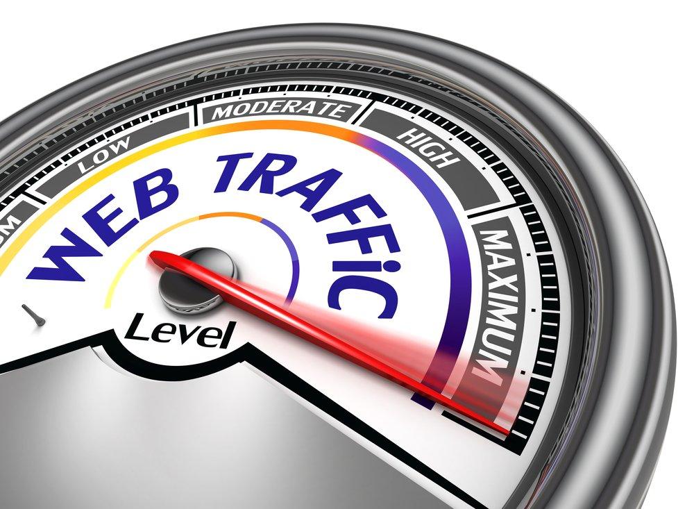 Increase Website Traffic - 5 Free Ways